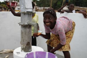 The Water Project: Petifu Junction Community -  Clean Water