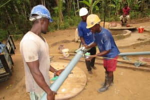 The Water Project: Mapeh Community -  Drilling