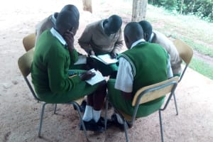 The Water Project: Kapchemoywo Girls Secondary School -  Training