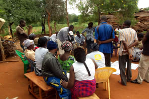 The Water Project: Syakama Community -  More Training Pictures From Training Last Year