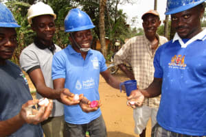 The Water Project: Mapeh Community -  Kola Nuts Given To The Team