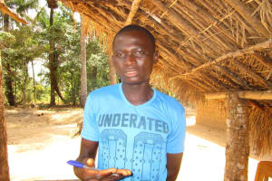 The Water Project: Ponka Village -  Keifallah Sesay