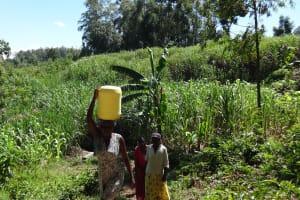The Water Project: Murumba Community, Muyokani Spring -  Clean Water
