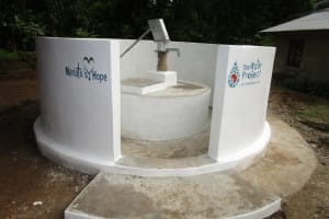 The Water Project: Rogbere Community -  Painted Well