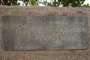 The Water Project: Syakama Community -  Finished Dam