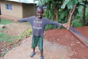 The Water Project: Mahanga Community -  Sanitation Platform In Progress