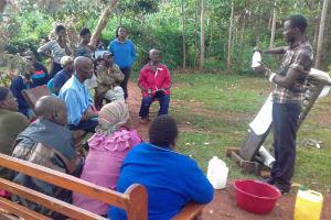 The Water Project: Visiru Community, Kitinga Spring -  Training