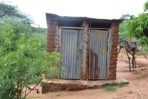 The Water Project: Nzung'u Community B -  Latrines