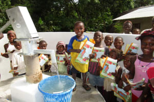 The Water Project: Rogbere Community -  Clean Water Celebration