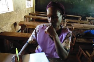 The Water Project: Ebusiloli Primary School -  Parent Nancy Vidinyo