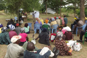 The Water Project: Ilinge Community A -  Training