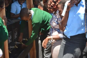 The Water Project: AIC Mutulani Secondary School -  Training