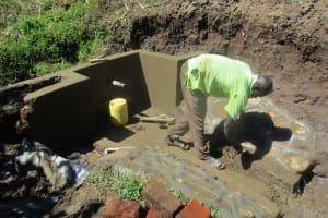 The Water Project: Eshiakhulo Community, Omar Sakwa Spring -  Construction