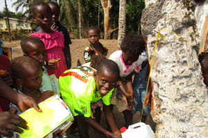 The Water Project: Petifu Junction Community -  Hand Washing
