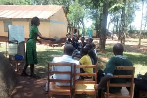 The Water Project: Mukhombe Primary School -  Training