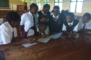 The Water Project: Bishop Sulumeti Girls Secondary School -  Training