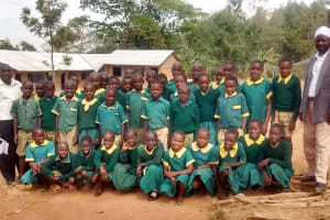 The Water Project: Buhunyilu Primary School -  Students Pose With Teachers