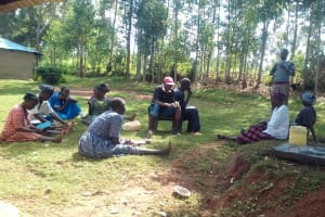 The Water Project: Igogwa Community -  Training
