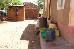 The Water Project: Kaani Community E -  Water Containers