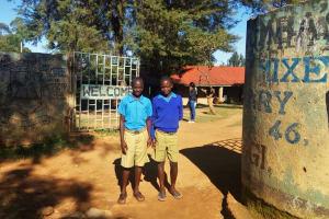 The Water Project: Eregi Mixed Primary School -  School Entrance