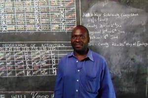 The Water Project: Chandolo Primary School -  Headteacher Madafu Benard