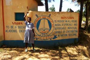 The Water Project: St. Antony Shijiko Primary School -  School Entrance