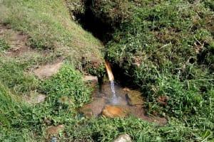 The Water Project: Shivagala Community, Paul Chengoli Spring -  Chengoli Spring