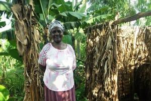 The Water Project: Wanzuma Community, Wanzuma Spring -  Sanitation Platform