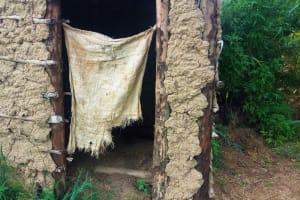 The Water Project: Ematiha Community, Ayubu Spring -  Latrine