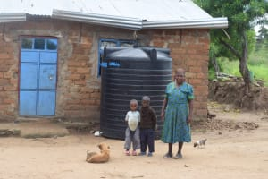 The Water Project: Kaani Community C -  Household Teresia Kilonzo
