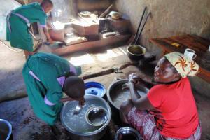 The Water Project: Chandolo Primary School -  Mary Atieno The School Cook