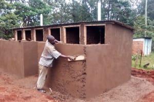 The Water Project: Ematsuli Primary School -  Latrine Construction