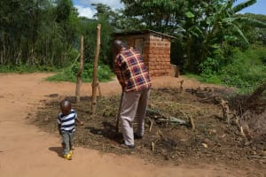 The Water Project: Ngaa Community A -  Household