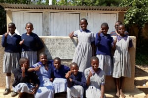 The Water Project: Chief Mutsembe Primary School -  New Latrines