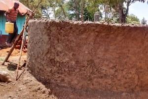 The Water Project: Eshisuru Primary School -  Tank Construction