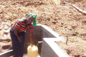 The Water Project: Shitoto Community, Abraham Spring -  Clean Water