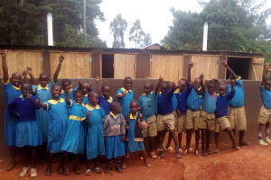 The Water Project: Ematsuli Primary School -  Finished Latrines