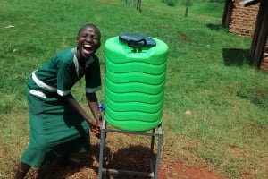 The Water Project: Ebukanga Primary School -  Hand Washing Stations