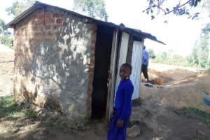 The Water Project: Shiyunzu Primary School -  Student Latrines