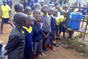 The Water Project: Kakubudu Primary School -  Hand Washing Stations