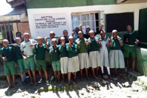 The Water Project: Eshisuru Primary School -  Celebration