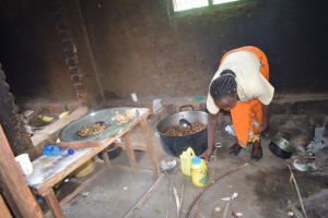 The Water Project: Ngaa Primary School -  School Kitchen