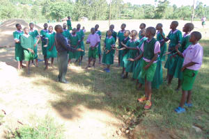 The Water Project: Chandolo Primary School -  School Choir