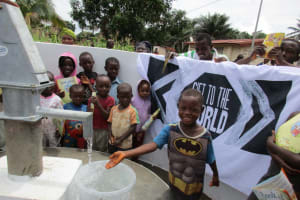 The Water Project: Benke Community, Turay Street -  Clean Water