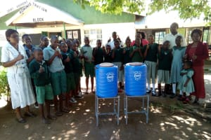 The Water Project: Eshisuru Primary School -  Hand Washing Stations