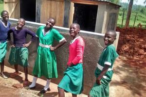 The Water Project: Ebukanga Primary School -  New Latrines