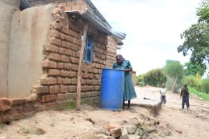 The Water Project: Kaani Community B -  Household Water Storage