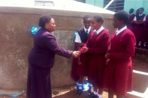 The Water Project: Bishop Sulumeti Girls Secondary School -  Clean Water