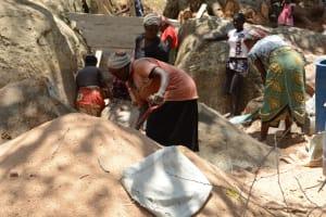 The Water Project: Waita Community -  Sand Dam Construction