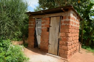 The Water Project: Ngaa Community A -  Household Latrines